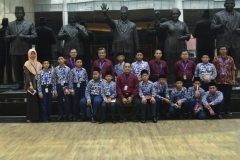 Foto bersama di Museum kepresidenan