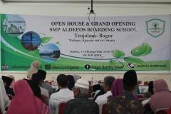 Open House dan Grand Opening SMP Aldepos Boarding School