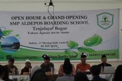 Pembina Yayasan , Pembina Sekolah,  Bapak Camat Kecamatan Tenjolaya  dan Ketua MUI Kec. Tenjolaya